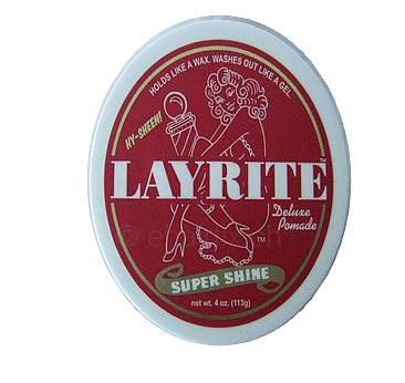 LAYRITE DELUXE POMADE-SUPER SHINE